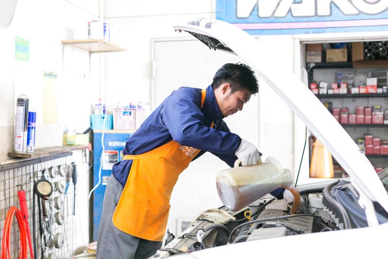お得な特典と安心と信頼の車検整備